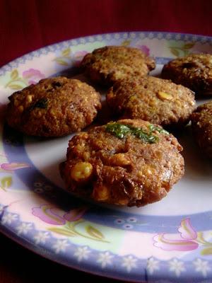 Aratikaya Plantain Masala Vada Blend With Spices