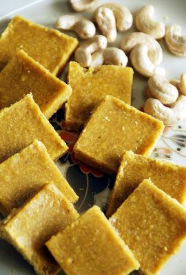 Vermicelli and Dry Coconut Burfi Recipe ~ Easy Burfi Recipes