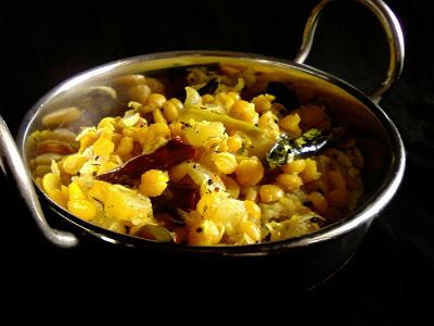 Dosakaya Senagapappu Kura ~ Lemon Cucumber Curry with Chana Dal