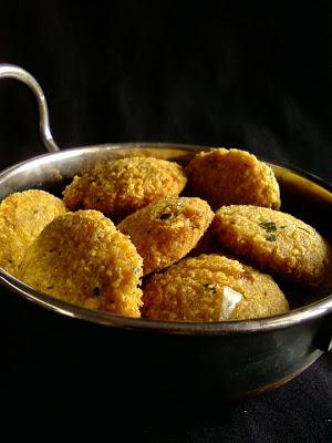 Meal Maker Masala Vada ~ Soya Chunks Vadai