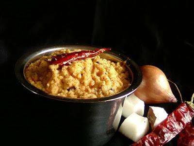 Thenga Chammanthi ~ Kerala Style Coconut Chutney