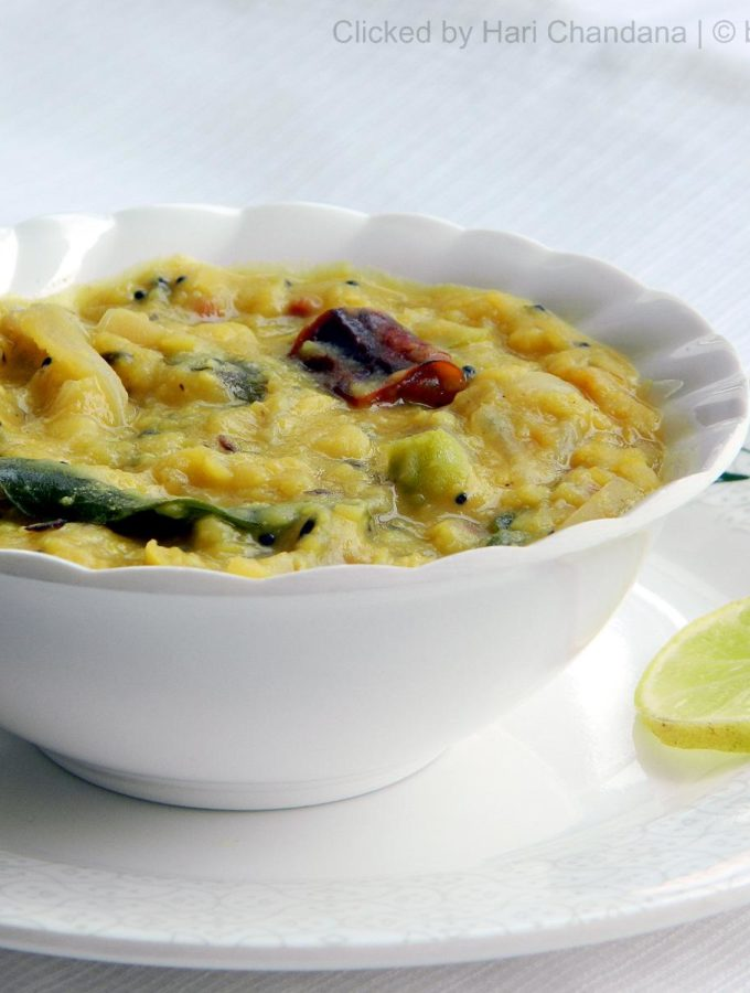 Lemon and Onion Dal Recipe