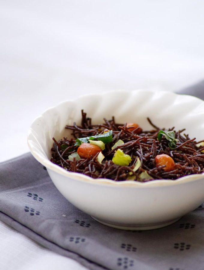 Ragi Semiya Upma Recipe ~ Finger Millet Vermicelli Upma Recipe