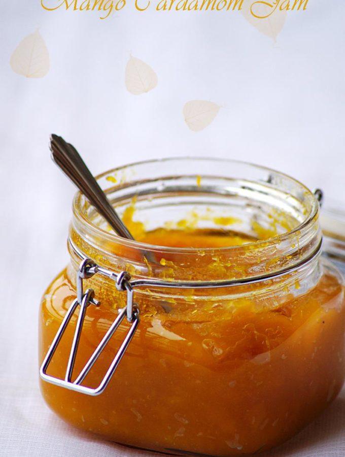Mango Cardamom Jam Recipe – Homemade Mango Jam – Step by Step Recipe