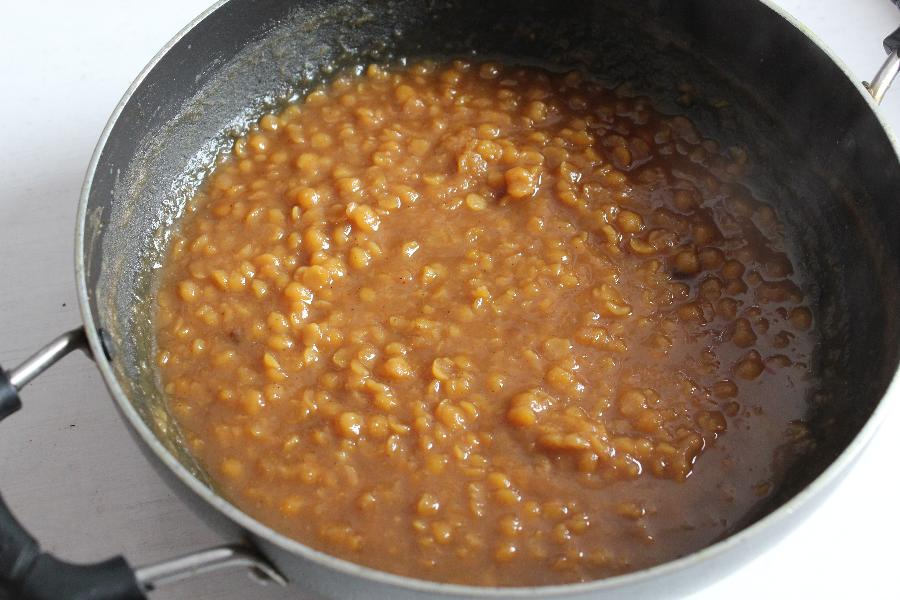 making of senaga pappu payasam