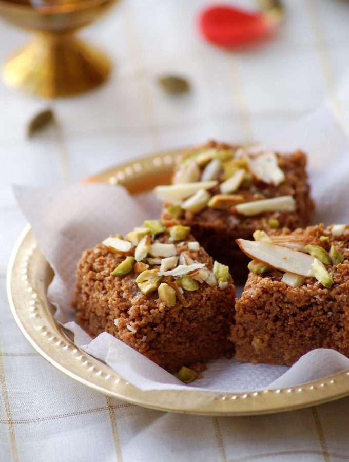 Dodha Burfi Recipe – Punjabi Milk Fudge – Makar Sankranti Recipes – Lohri Special Recipes