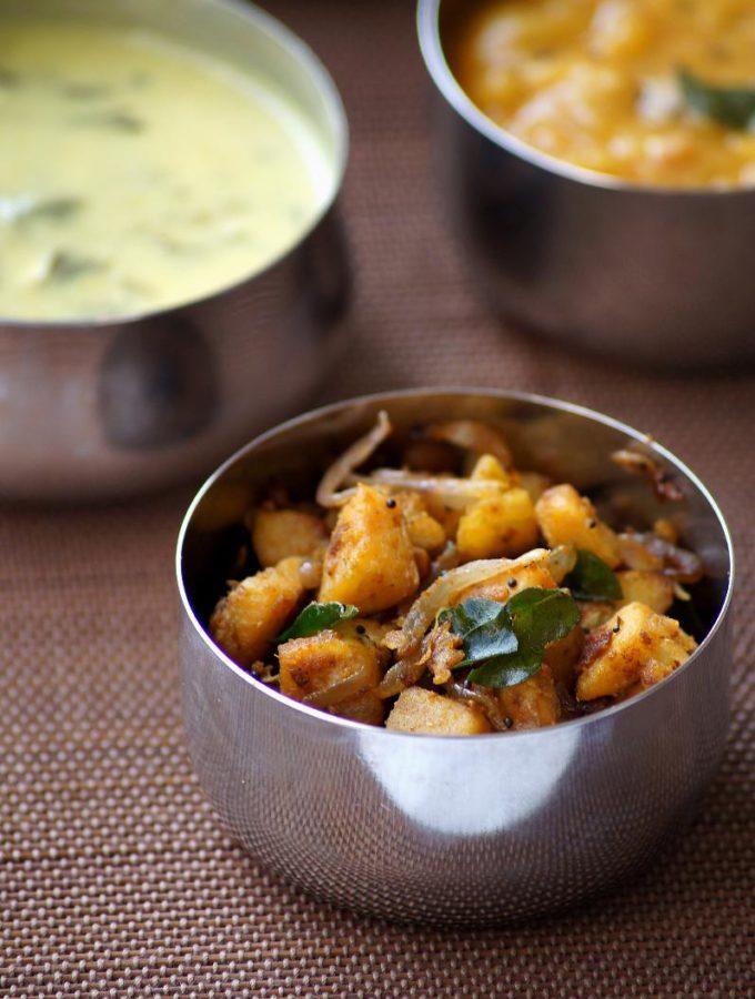 Aratikaya Vepudu Recipe – Raw Banana Fry with Sambar Powder