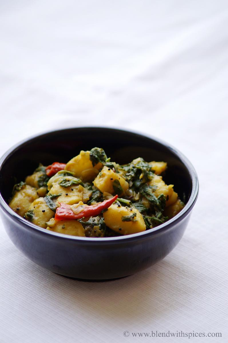 How to make saag aloo recipe
