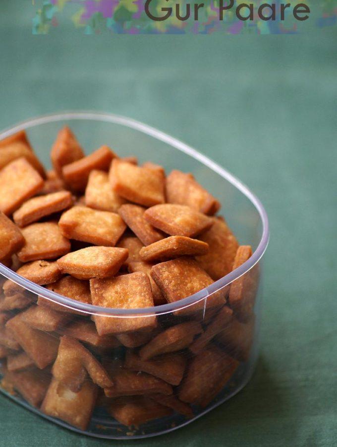 Gur Para Recipe – How to Make Gur Pare – Step by Step Recipe – Holi Recipes