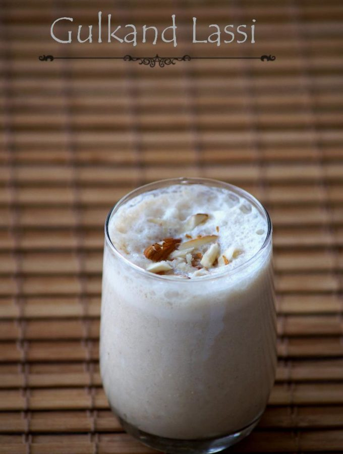 Gulkand Lassi Recipe – Indian Rose Petal Jam Lassi – Gulkand Recipes