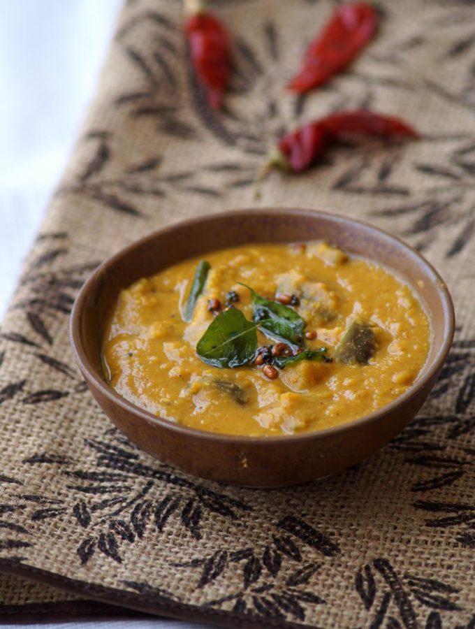 Kathirikai Rasavangi Recipe – How to make Brinjal Rasavangi – South Indian Recipes