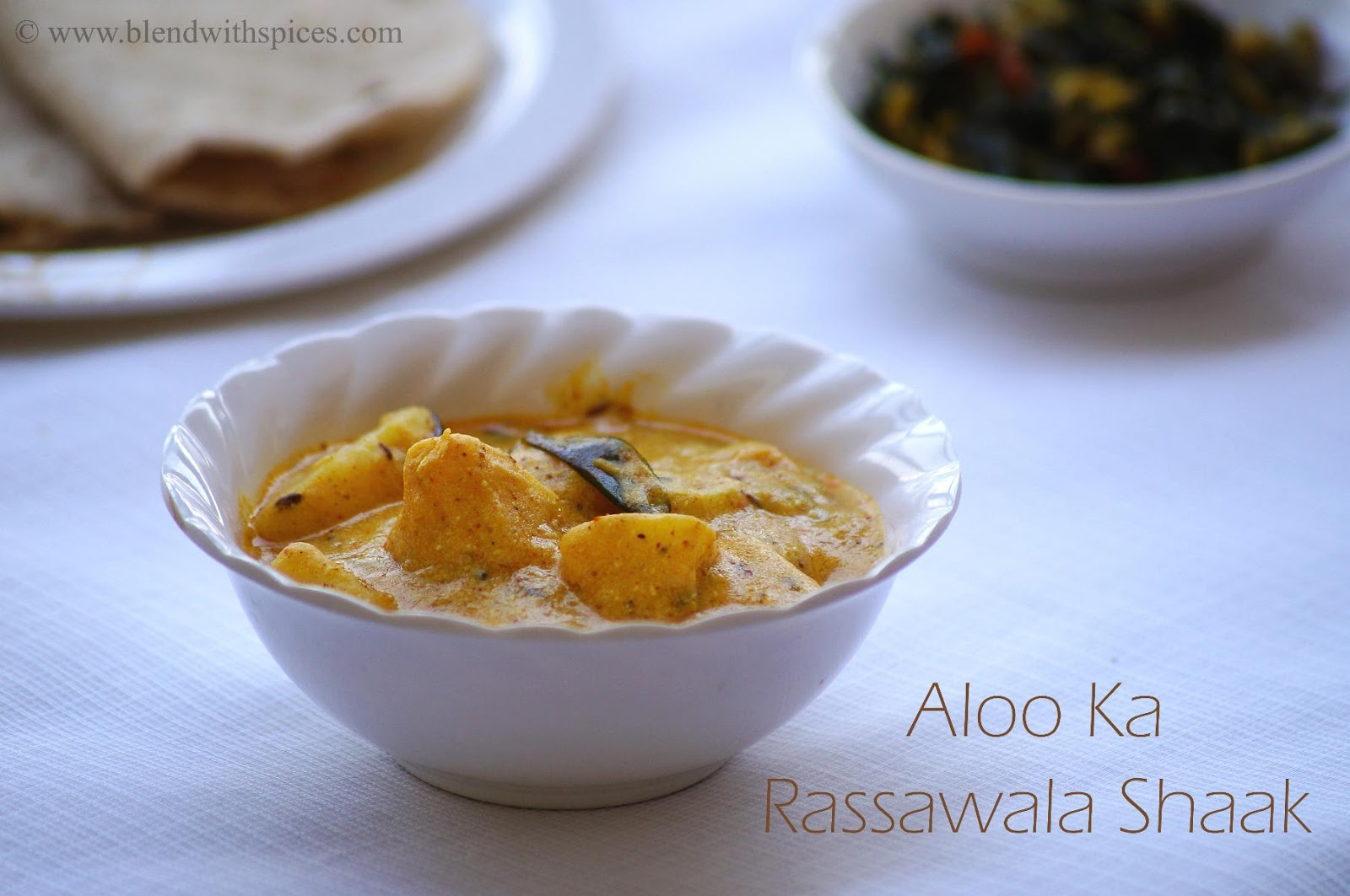 Rajasthani Aloo Rassawala Shaak Recipe, how to make rajasthani sabji recipe