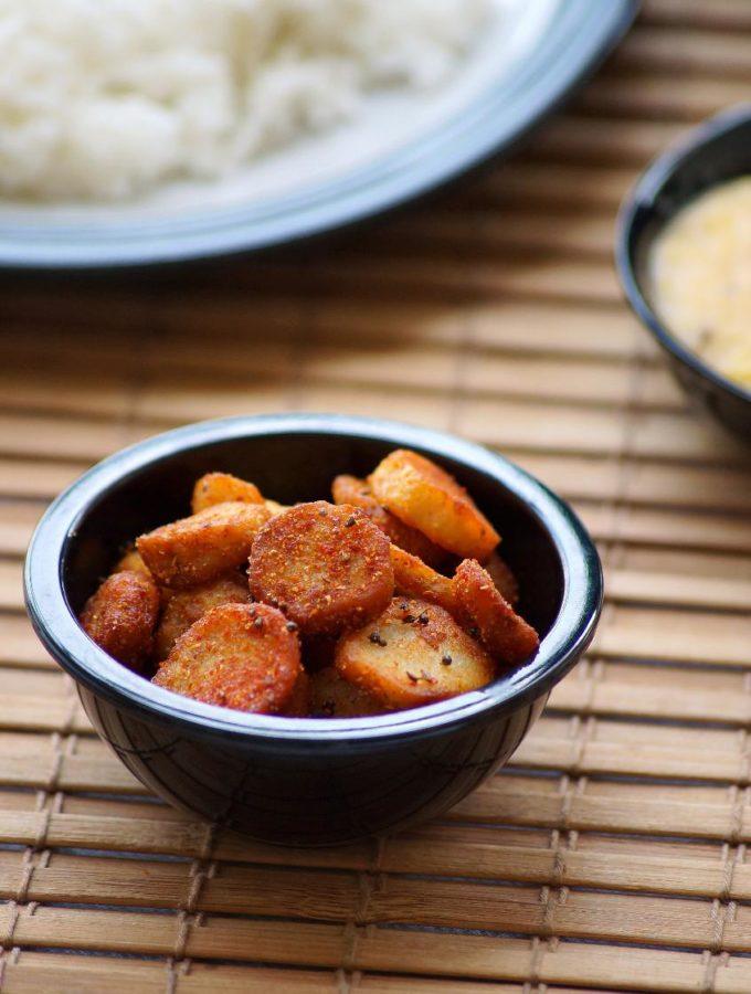 Arbi Ka Saag Recipe – Arbi Saag Recipe – Rajasthani Style Taro Root Fry – Rajasthani Recipes