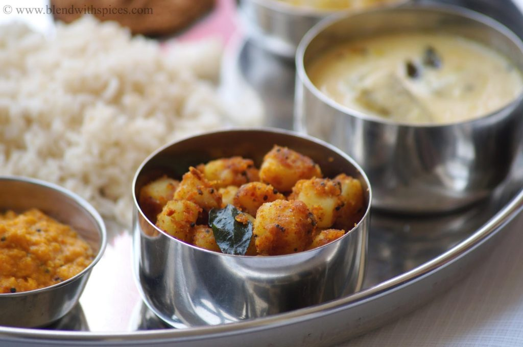 chilakada dumpa podi kura, how to make sweet potato curry, andhra style sweet potato curry recipe