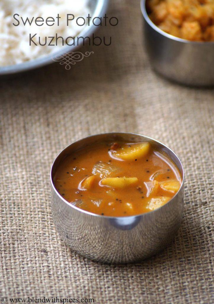 Sweet potato kuzhambu recipe sakkaravalli kizhangu kulambu recipe save forumfinder Images