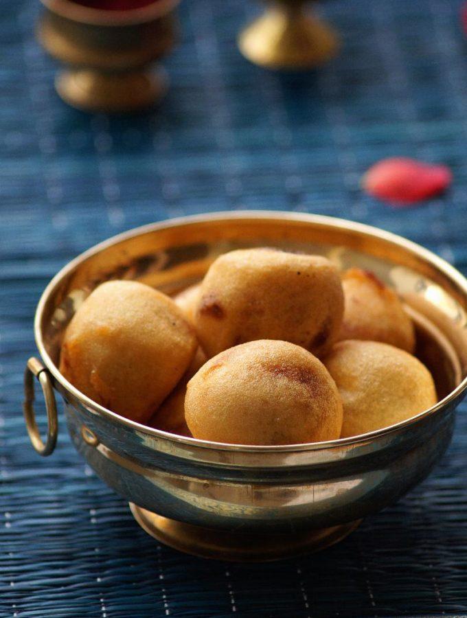 Poornam Boorelu Recipe – How to make Poornalu – Suzhiyam – Step by Step Recipe – Varalakshmi Vratham Naivedyam Recipes