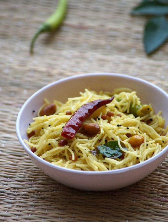 Semiya Pulihora Recipe – Vermicelli Pulihora Recipe – Varalakshmi Vratham Recipes
