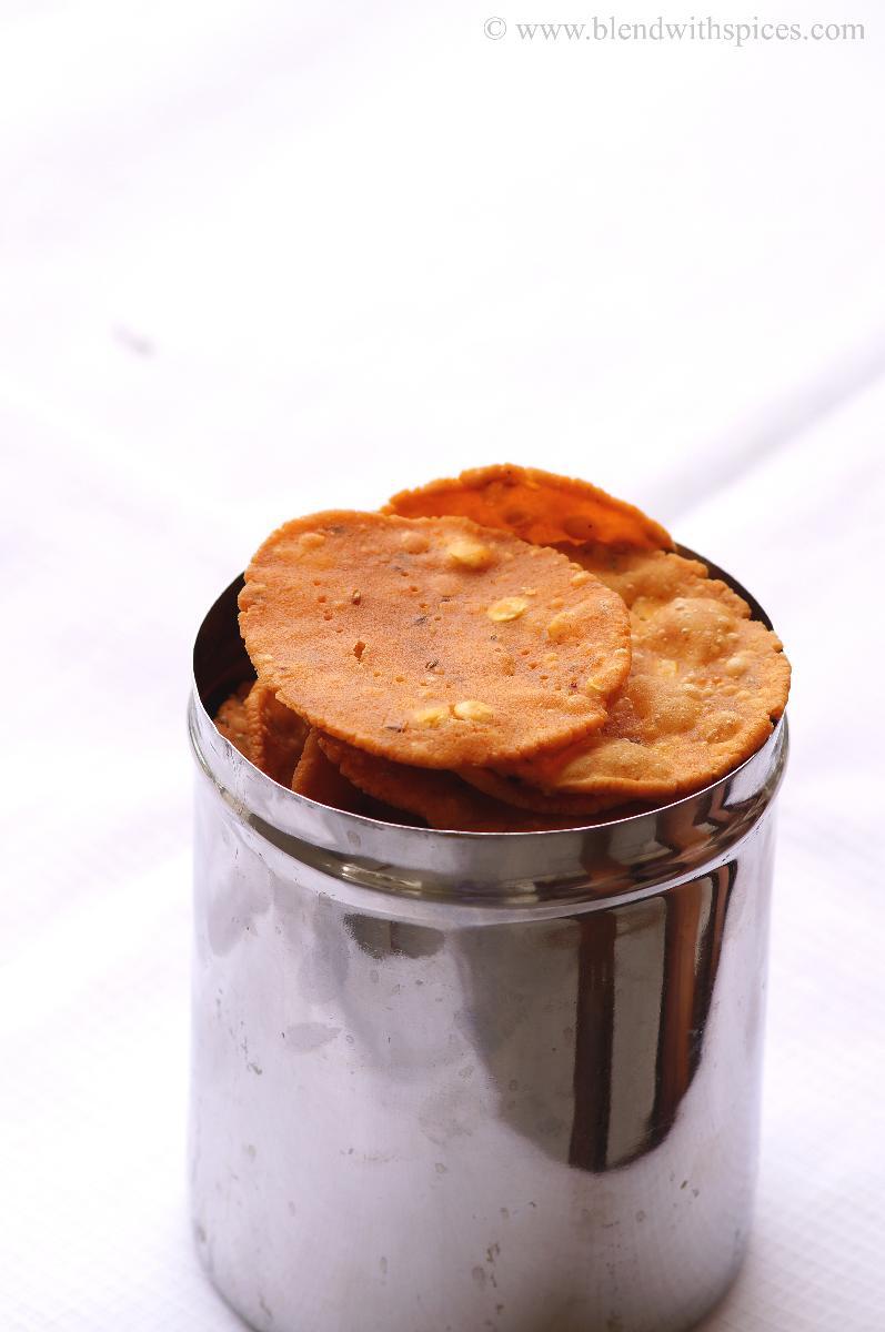 Traditional Andhra snack chekkalu