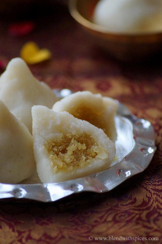 how to prepare rava modak, easy rava modak, ganesh chaturthi recipes