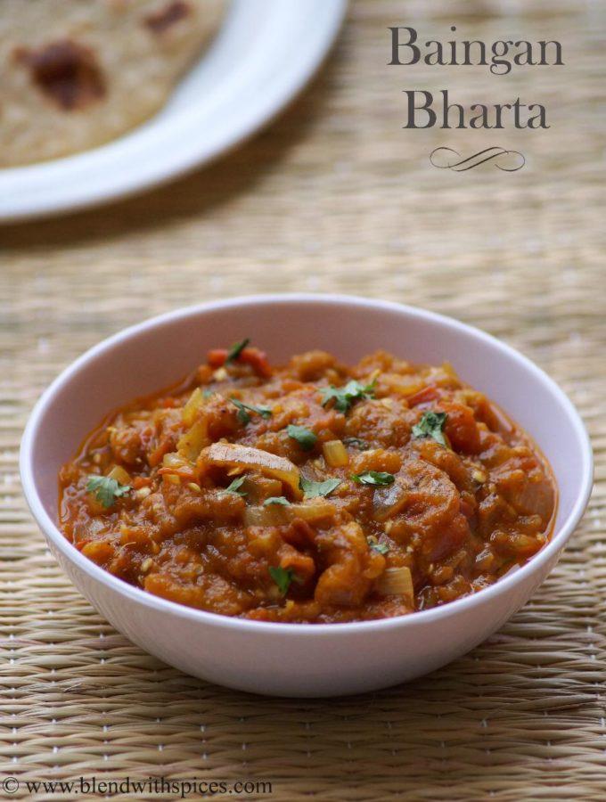 Baingan Bharta Recipe – How to make Punjabi Baingan Bharta Recipe