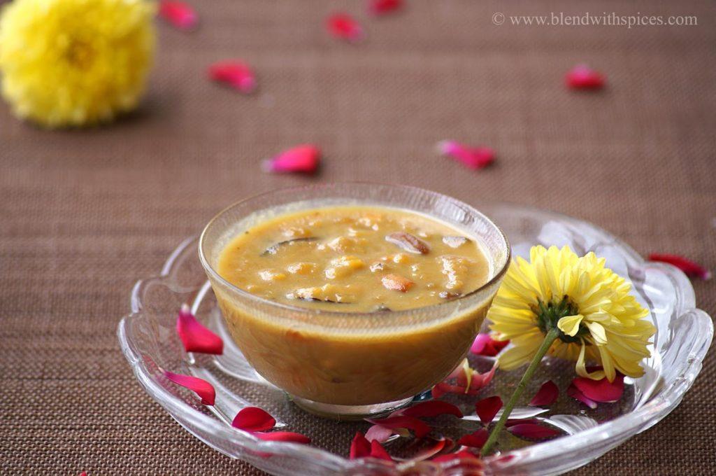 how to prepare chana dal payasam, chana dal payasam recipe, easy payasam recipes