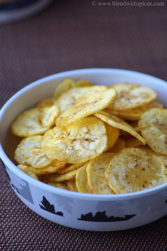 how to make banana chips at home, kerala plantain chips, upperi for onam, vazhakka chips recipe