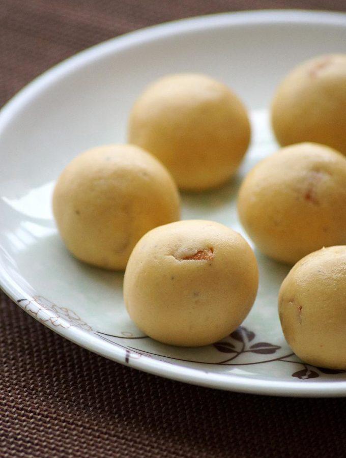 Roasted Gram Coconut Laddu Recipe ~ Krishna Jayanthi Recipes ~ Janmashtami Recipes