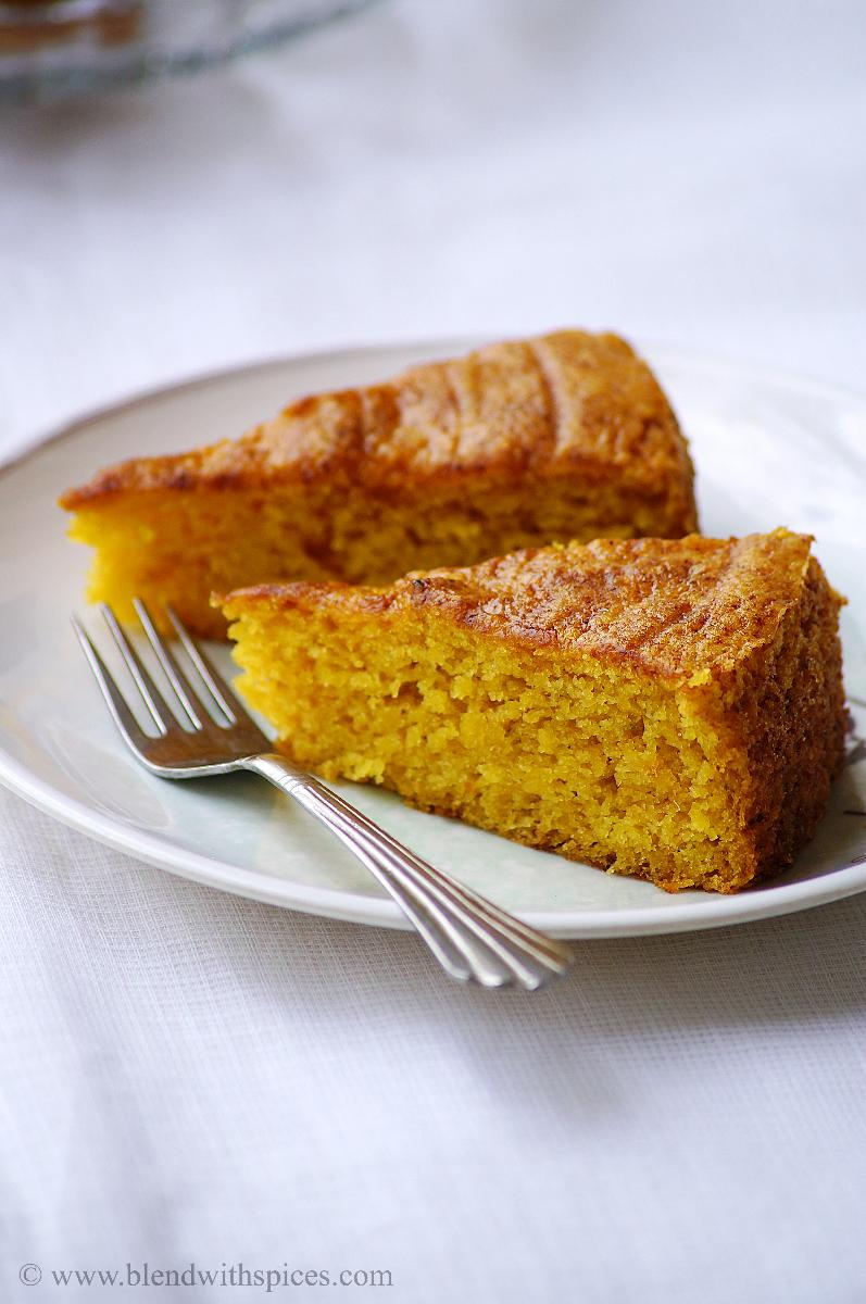 Eggless Butterless Cake Recipe