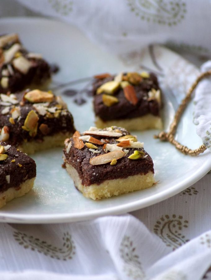 Chocolate Khoya Burfi Recipe – Step by Step Recipe – Easy Diwali Sweets Recipes