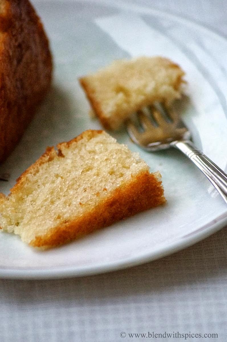 Vanilla Cake Recipe By Sanjeev Kapoor