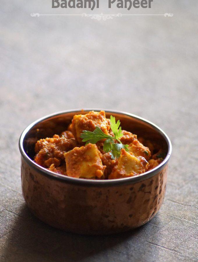 Badami Paneer Recipe – How to make Badami Paneer – Step by Step Recipe – Easy Paneer Recipes
