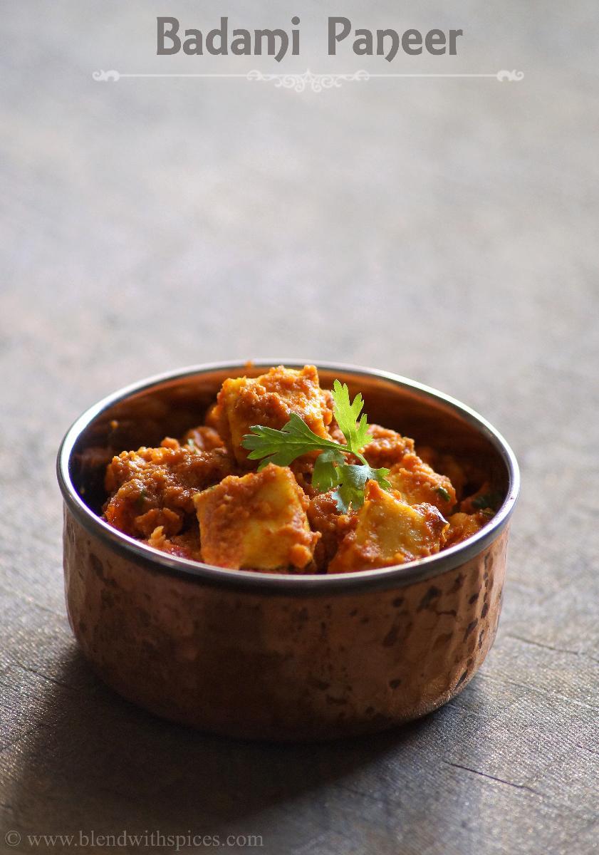 Badami Paneer Recipe - How to make Badami Paneer - Step by Step Recipe - Easy Paneer Recipes
