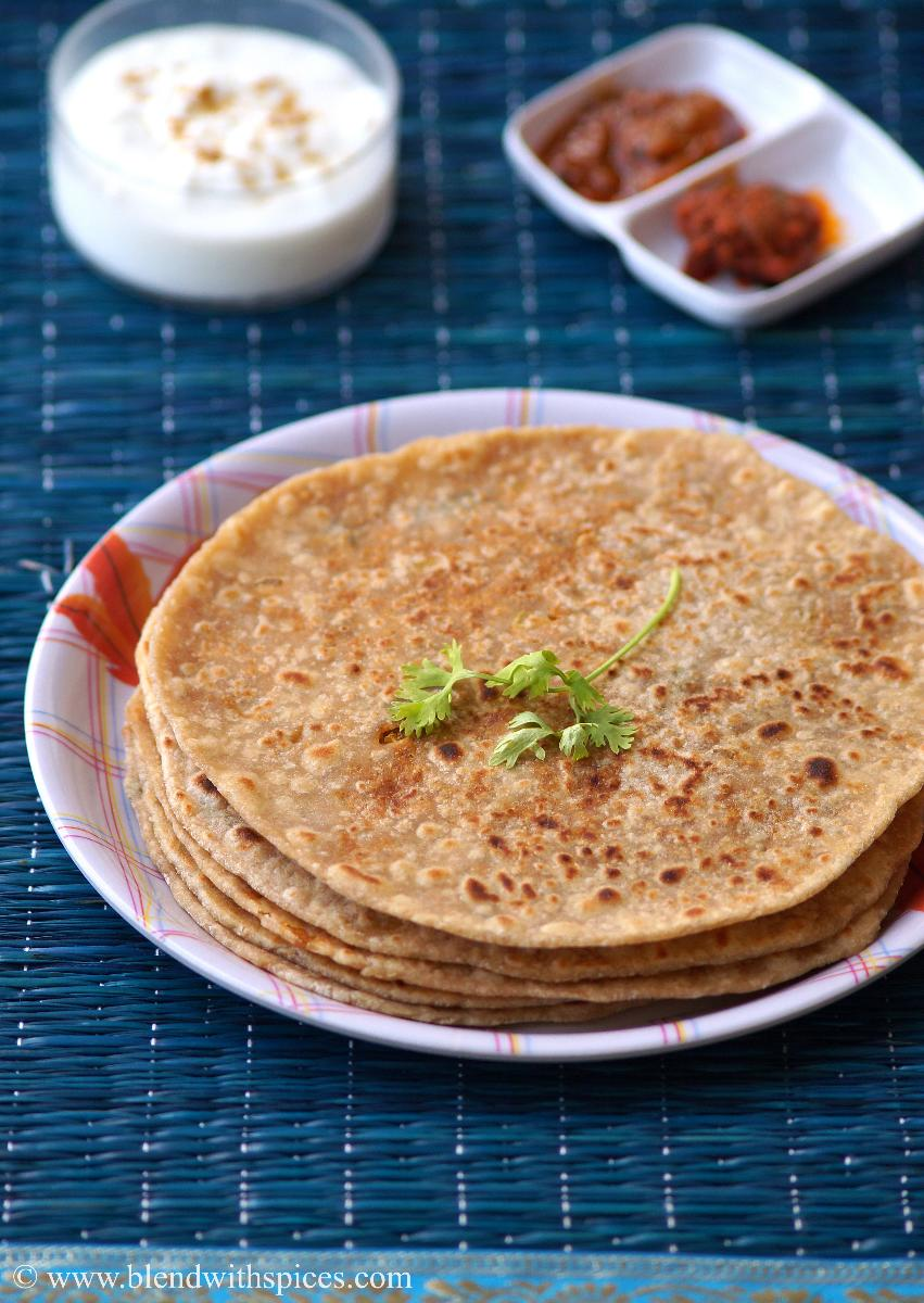 Soya Paratha Recipe - How to make Soya Paratha - Soya Chunks Recipes