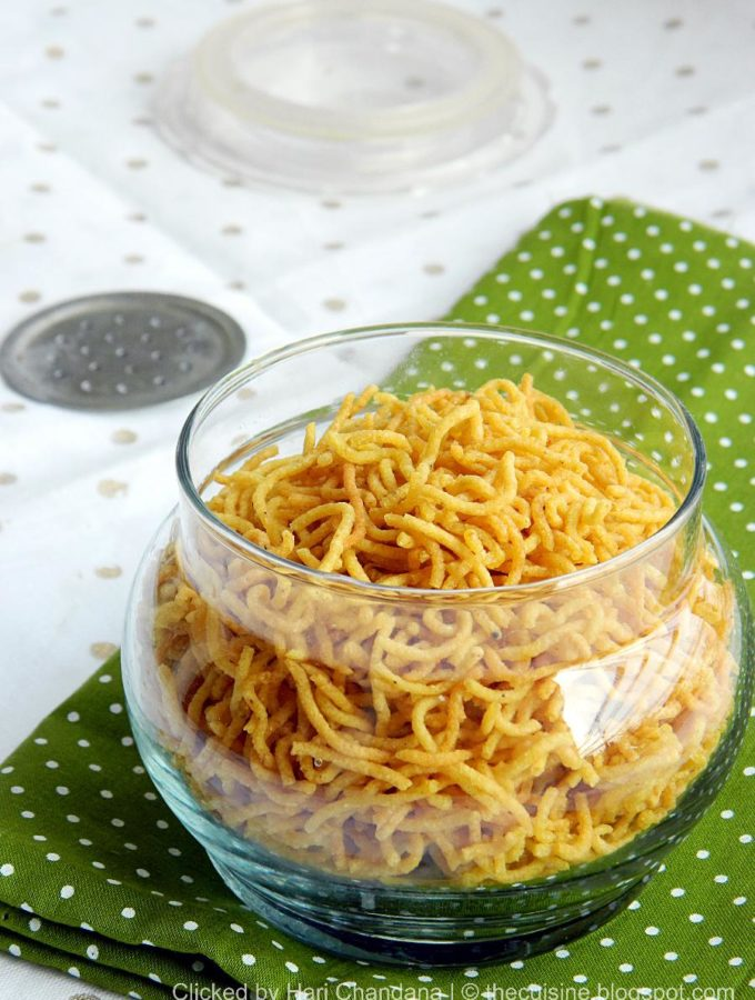 Aloo Bhujia Recipe | Potato Sev | Easy Diwali Snacks