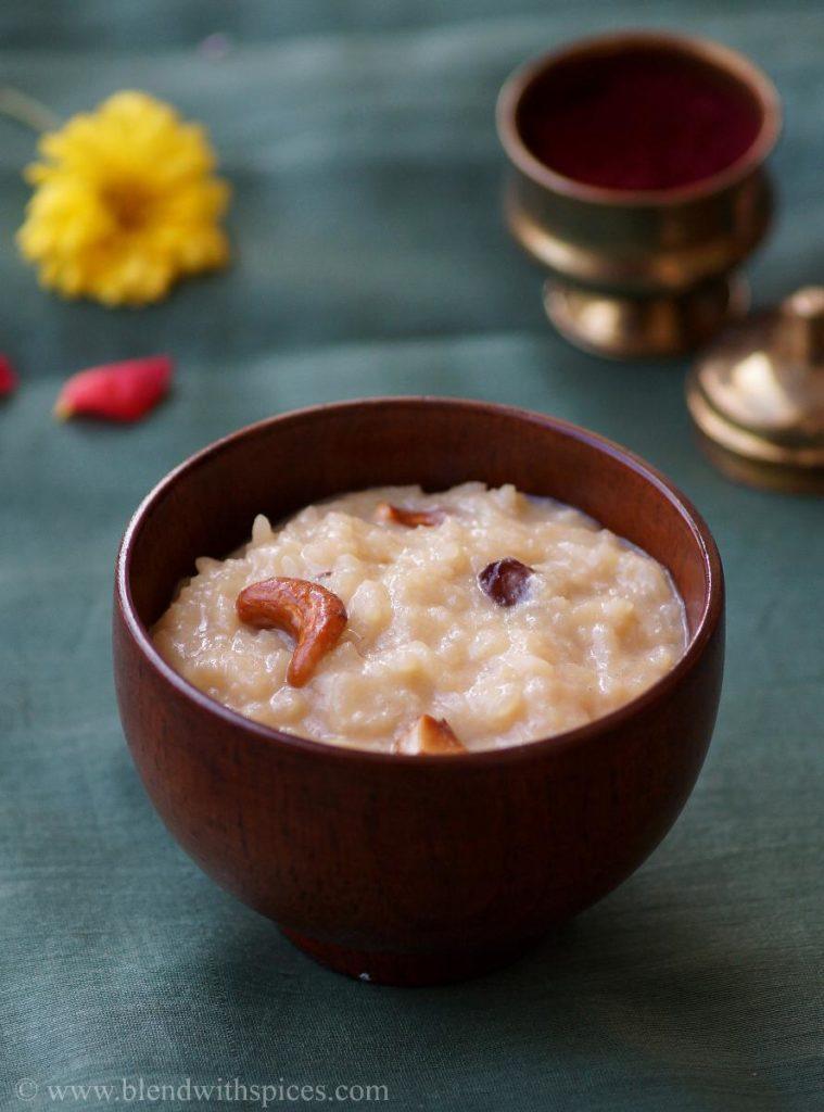 bellam paramannam recipe, how to make paramannam, easy prasadam recipes, vinayagar chaturthi recipes