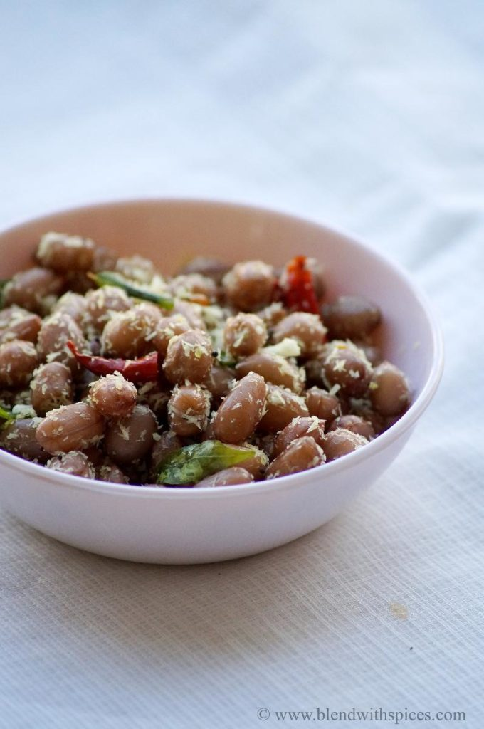 peanut sundal recipe, how to make peanut sundal, sundal recipes