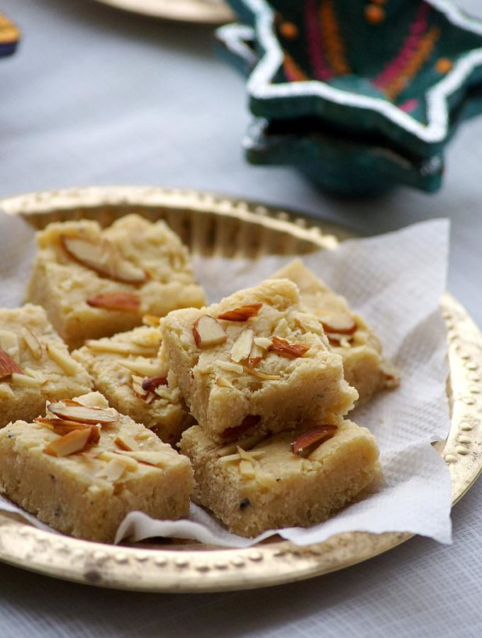 7 Cup Sweet / 7 Cup Burfi Recipe – Deepavali Special Sweets Recipes