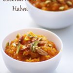 Carrot Coconut Milk Halwa Recipe – How to make Carrot Halwa with Coconut Milk – Holi Recipes
