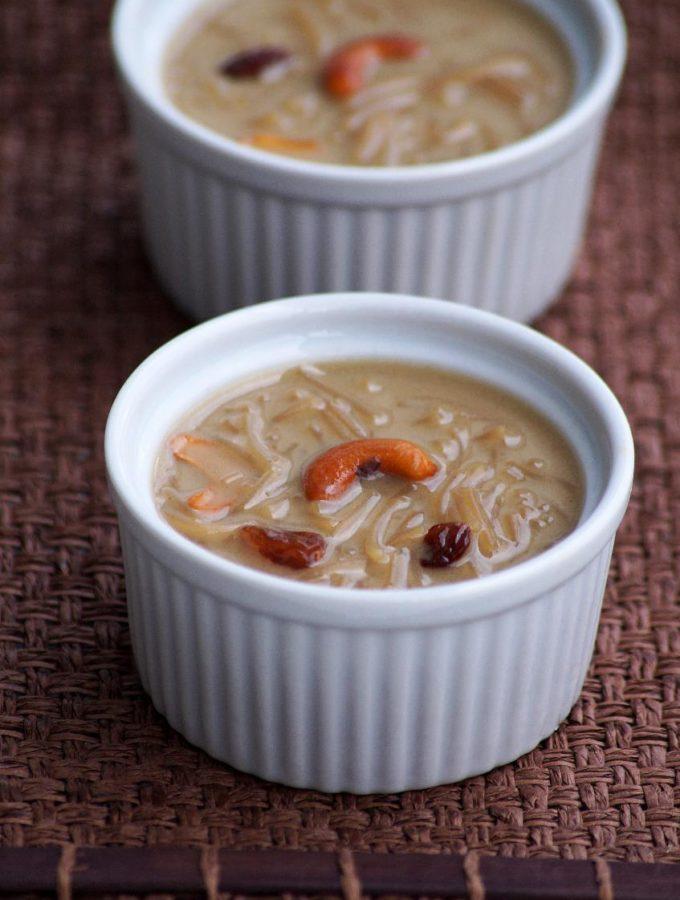 Vermicelli Coconut Milk Payasam Recipe – Semiya Payasam with Jaggery & Coconut Milk – Ugadi Special Recipes