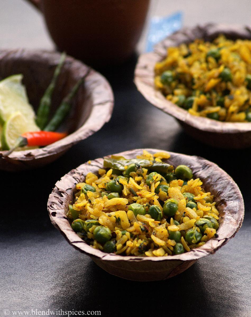 Banarasi Chura Matar Recipe