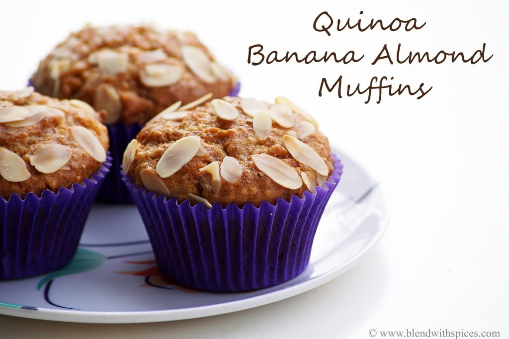 how to make quinoa muffins recipe, blendwithspices.com