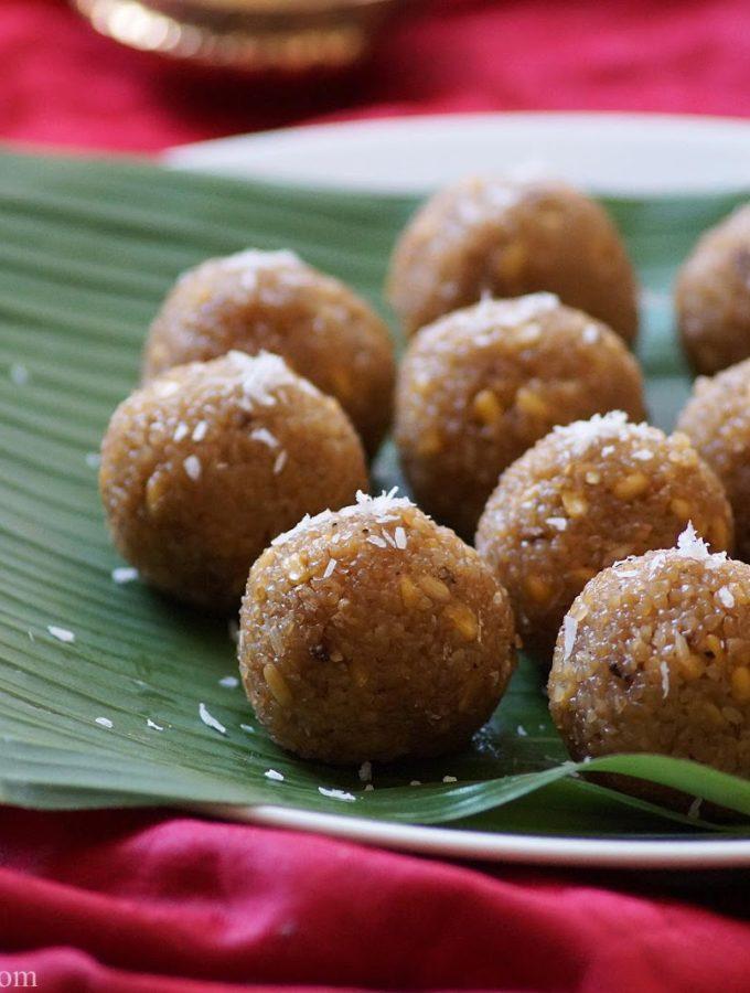 Bellam Godhuma Undrallu Recipe – Sweet Undrallu with Wheat Rava – Vinayaka Chavithi Recipes