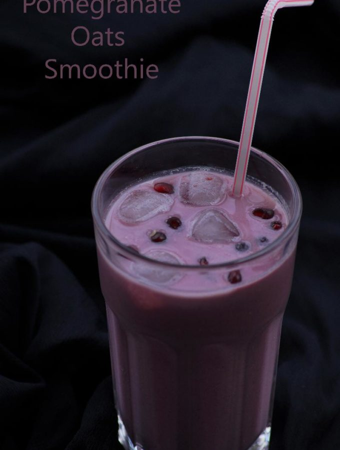 Pomegranate Oats Smoothie Recipe – Pomegranate Recipes