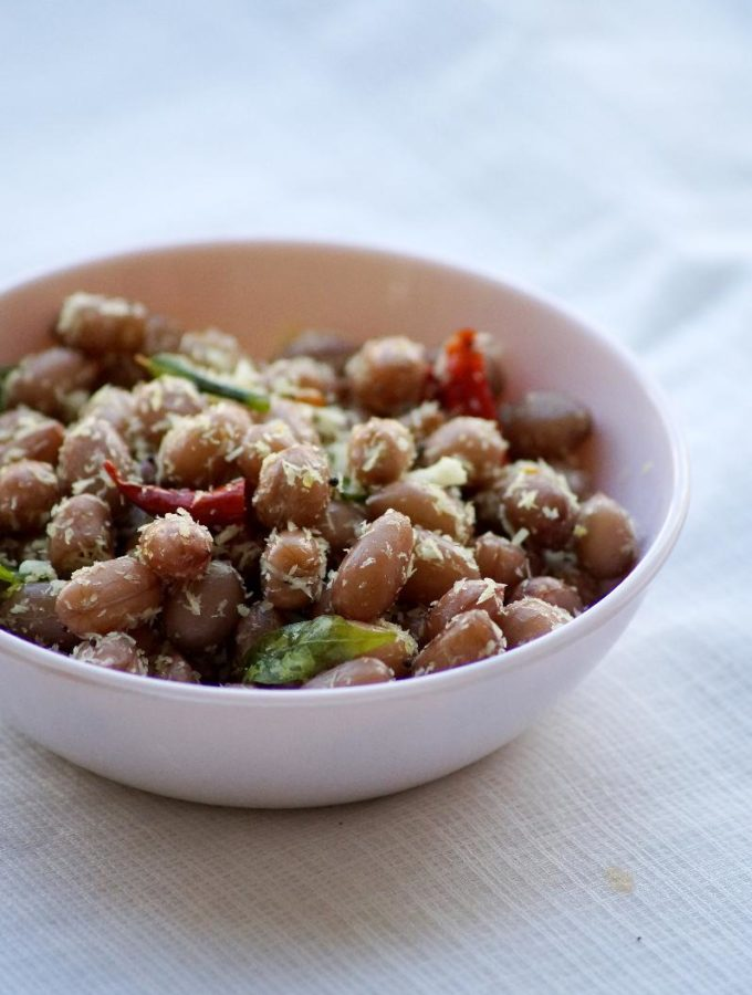 Peanut Sundal Recipe – Ganesh Chaturthi Naivedyam Recipes