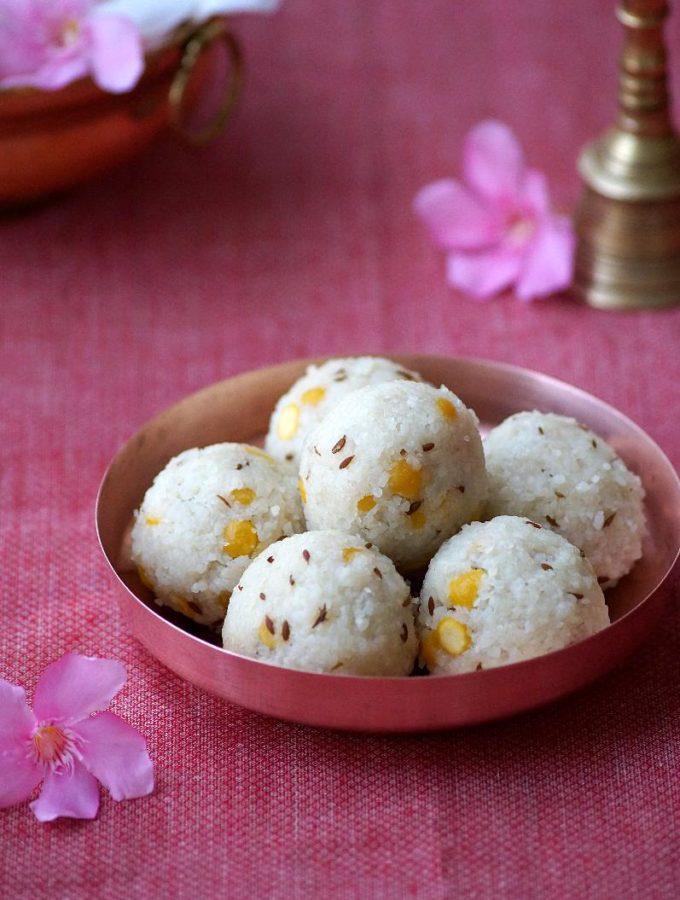 Undrallu Recipe – How to make Undrallu – Vinayakaya Chavithi Naivedhyam Recipe {Video}