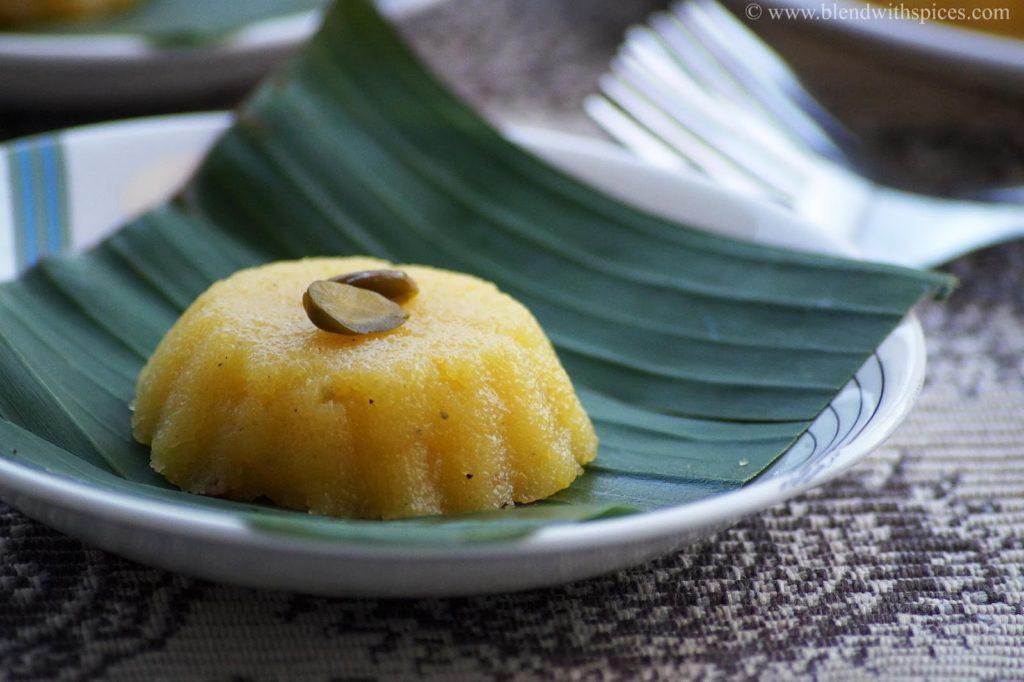 how to make orange kesari bhath, halwa with orange juice