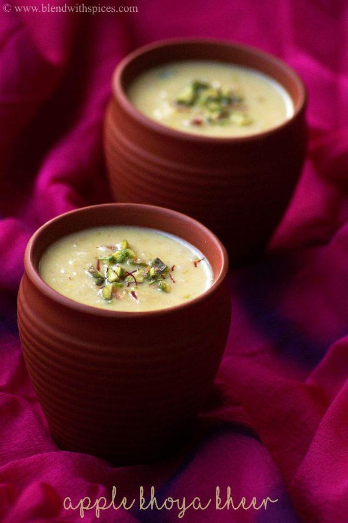 indian dessert recipes, payasam recipe, mawa recipes