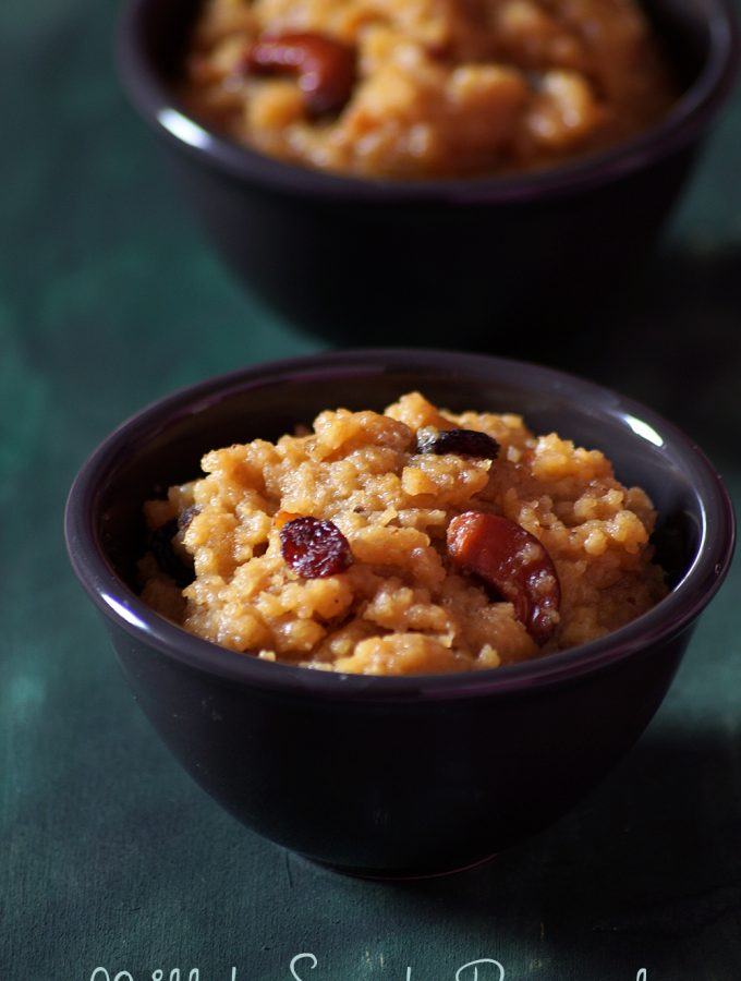 Udalu Pongali Recipe – Millet Sweet Pongal – Kuthiraivali Sakkarai Pongal