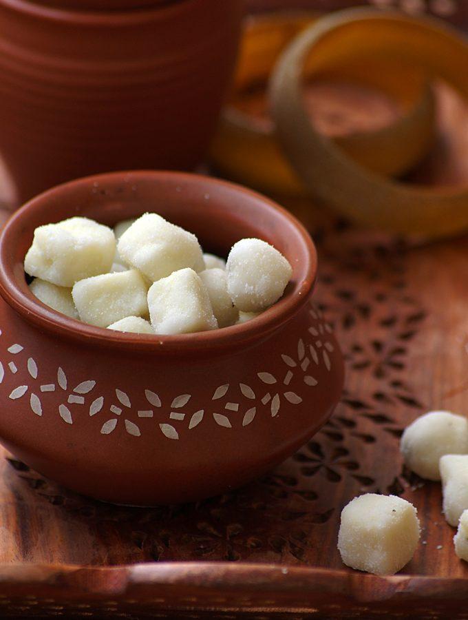 Chena Murki Recipe – How to Make Bengali Sugar Coated Paneer