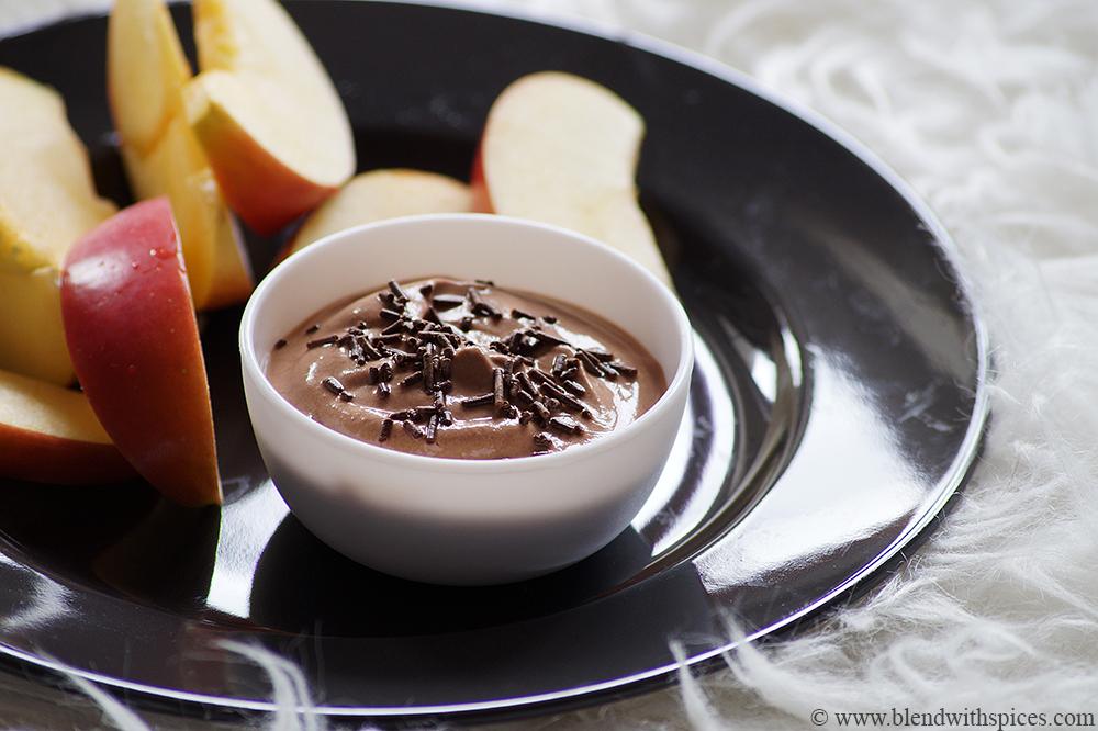 Chocolate Greek Yogurt Dip Recipe Easy Yogurt Chocolate